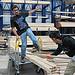 Ordenando la madera